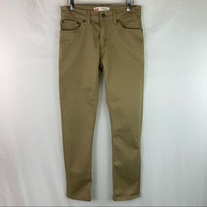 Levis 511 khaki jeans 18 Reg. 29x29